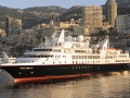 SILVERSEA'S NEW EXPEDITION SHIP IS DEDICATED BY HSH PRINCE ALBERT II IN MONACO.     Le Nouveau bateau d'expedition de Silversea inauguré par S.A.S. Le Prince Albert II, à Monaco - 03 juin 2008.